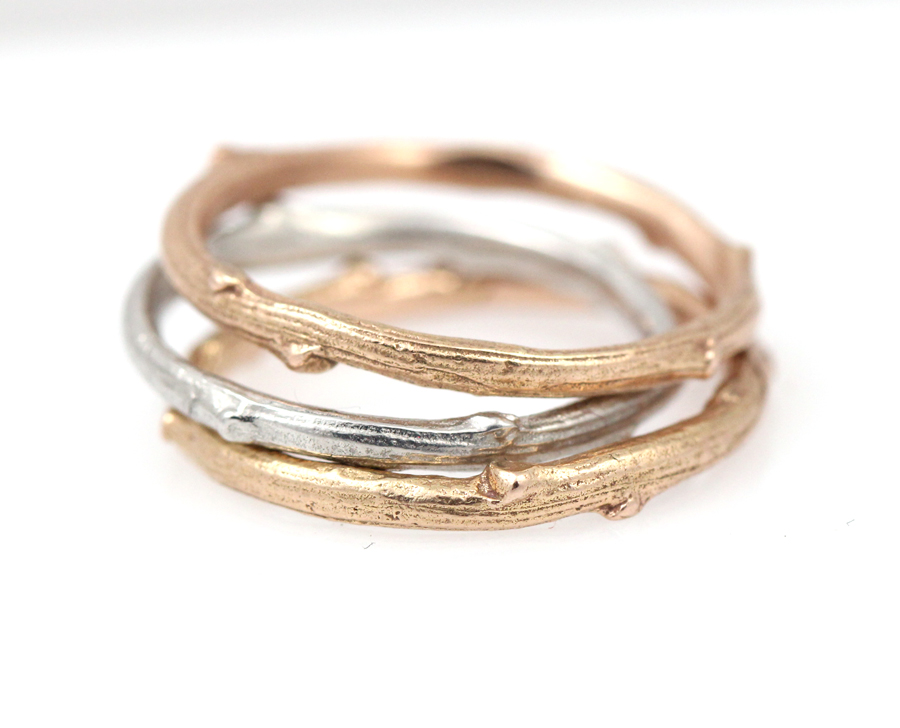 Twig stacking bands