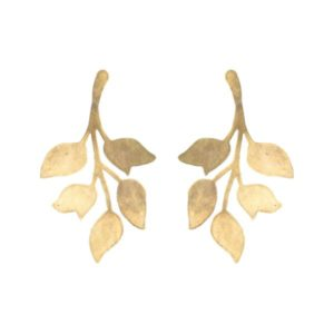 "We Dream in Colour Brass ""Single Ophelia"" Earrings"