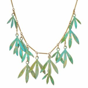 "We Dream in Colour Brass ""Bamboo"" Necklace"