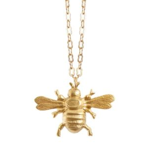 "We Dream in Colour Brass ""Gold Bee"" Necklace"