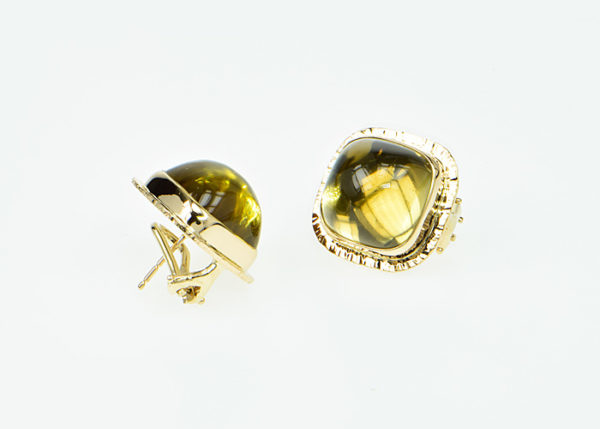 Baksa 14K Yellow Gold Citrine Earrings
