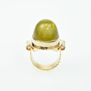 Baksa 14K Yellow Gold Citrine Ring