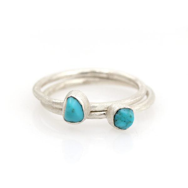 Barton Designs Sterling Silver Turquoise Nugget Ring