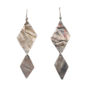 "Susan Fauman Sterling Silver ""Inspiration"" Earrings"