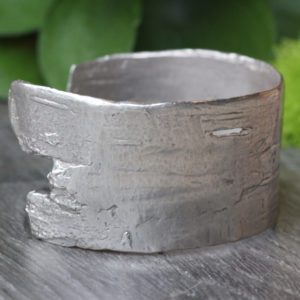 "Pippa Jayne Designs Sterling Silver ""Birch"" Cuff"