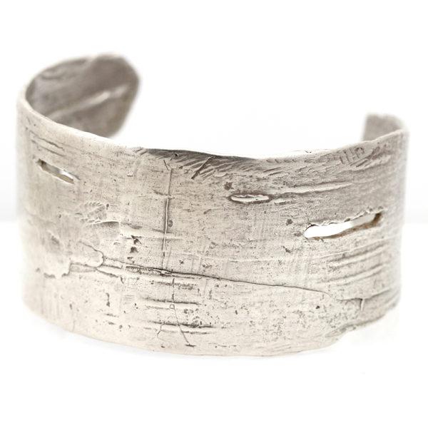 """Pippa Jayne Designs Sterling Silver """"Birch"""" Cuff"""