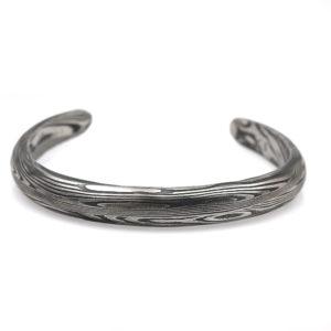 Chris Ploof Damascus Steel Cuff Bracelet