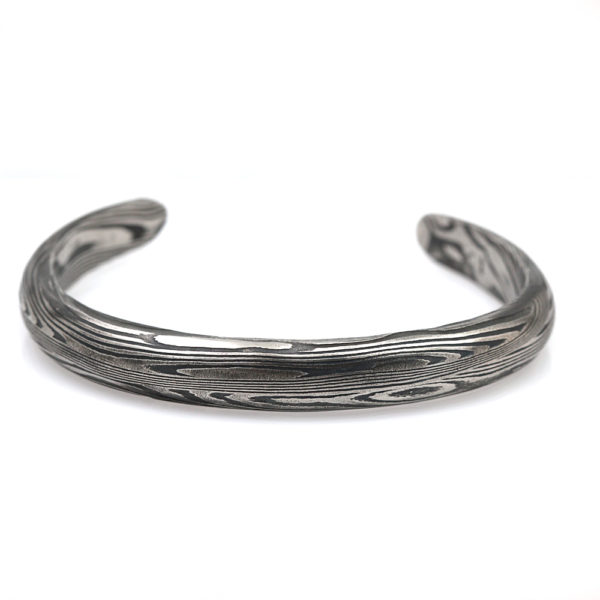Chris Ploof Damascus Steel Cuff Bracelet