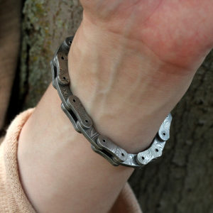 "Chris Ploof Damascus ""Links"" Bracelet"