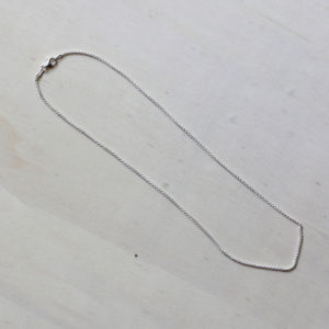 """Sterling Silver 16"""" Wheat Chain"""