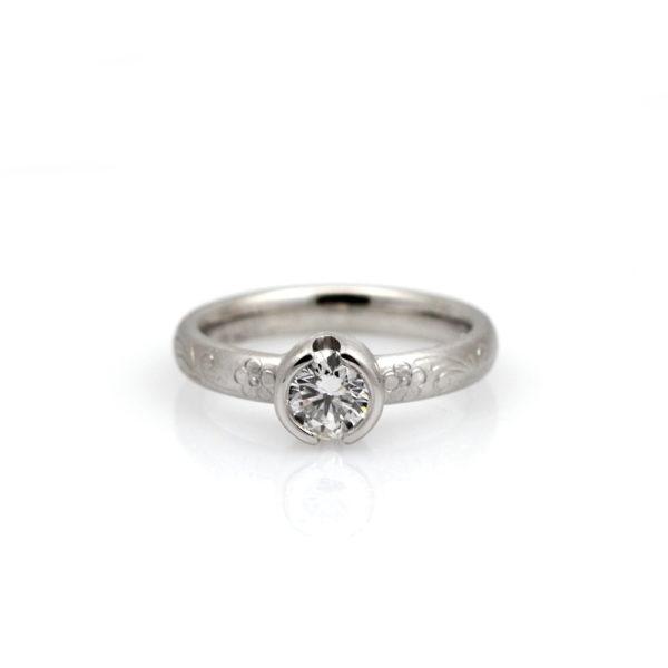 Platinum Sirius Diamond Solitaire