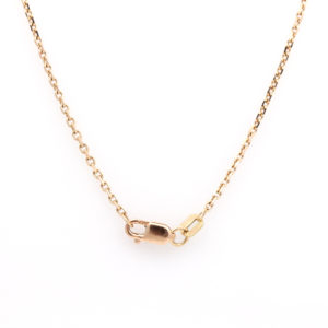 """14K Rose Gold 18"""" Cable Chain"""