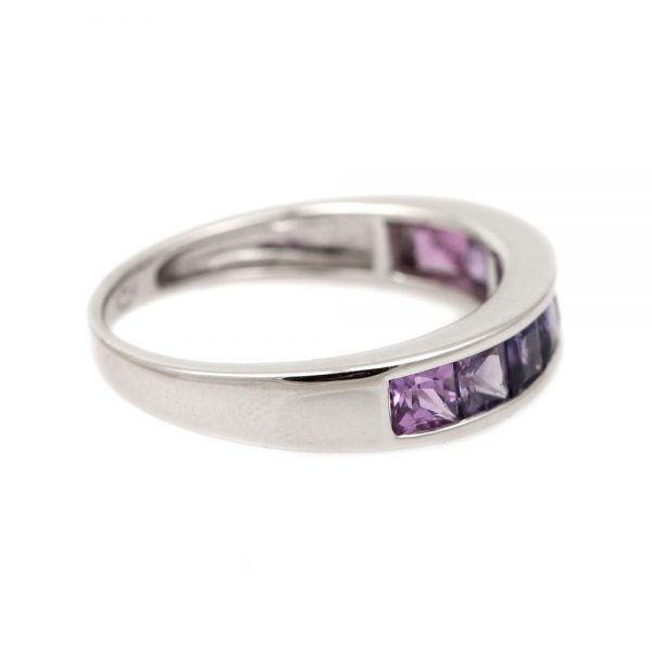 Pink & Purple Ombre Anniversary Band