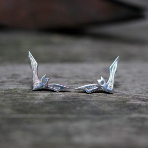Arte*Vitta bat earrings nightlife