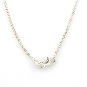 """Sterling Silver 22"""" Cable Chain"""