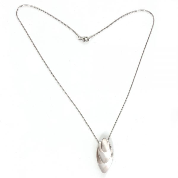 """Kelim Sterling Silver """"Scales"""" Necklace"""