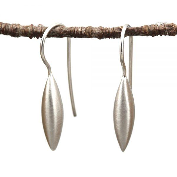 Kelim Sterling Silver Wheat Drop Earrings