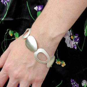 Kelim Sterling Silver Stepping Stones Bracelet
