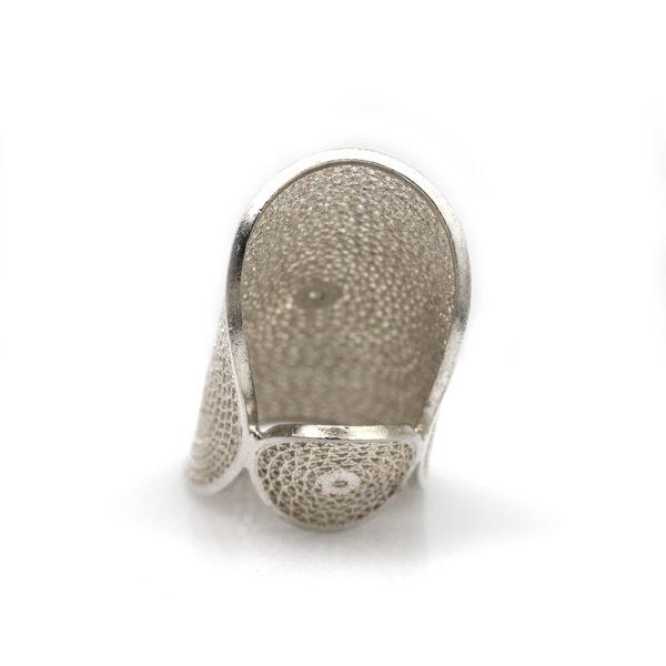 Muxi Silver Circles Ring