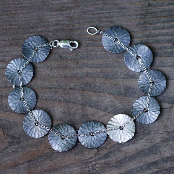 """Toby Pomeroy Eco Silver """"Oasis"""" Bracelet"""