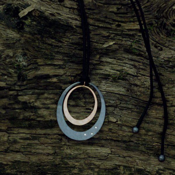 Toby Pomeroy Twilight Lunar Eclipse Necklace