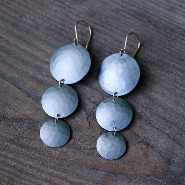 Toby Pomeroy River Moon Earrings