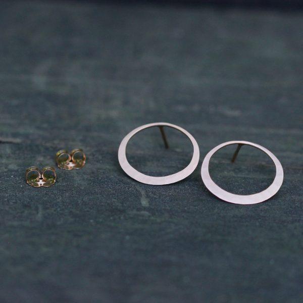 Toby Pomeroy Petite Eclipse Post Earrings