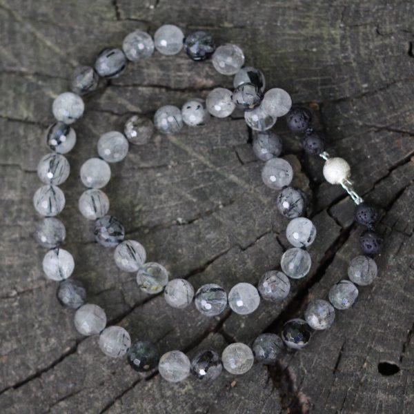Barton Designs Tourmilated Quartz Necklace