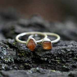 Barton Designs Raw Sunstone Ring