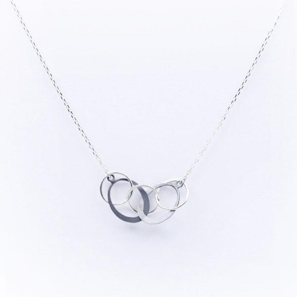 Toby Pomeroy Sterling Silver Galaxy Necklace