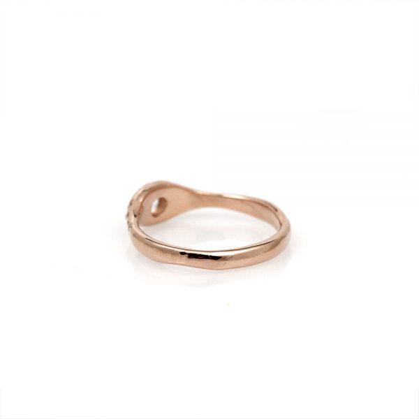Pippa Jayne Designs Rising Night Moonstone + Diamond Ring