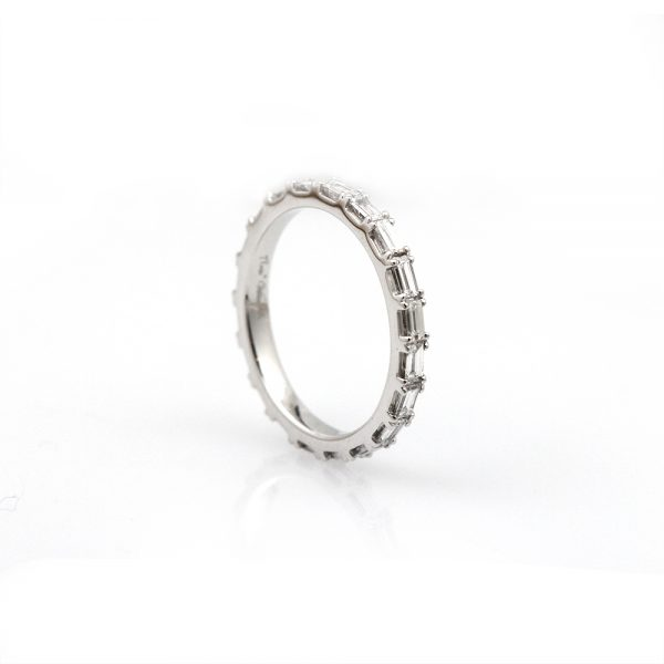 Arte*Vitta Baguette Cut Diamond Eternity Band