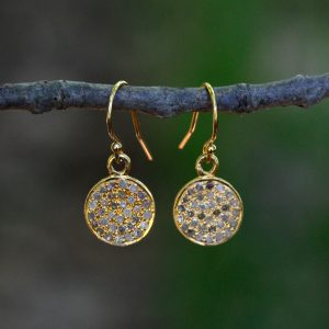 Barton Designs Diamond Pave Earrings